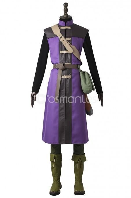 Japanese Game Dragon Quest 11 Hero Cosplay Costumes Vest Men Outfit Full Set