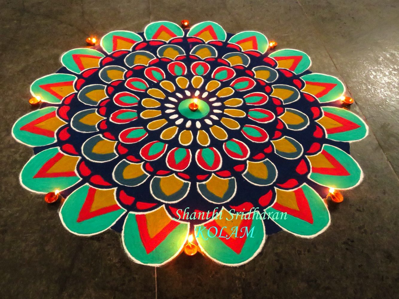 #colourful mandala