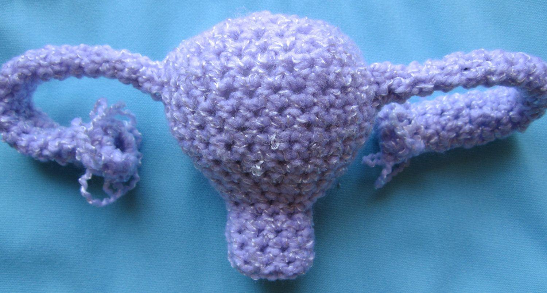 Crocheted Uterus