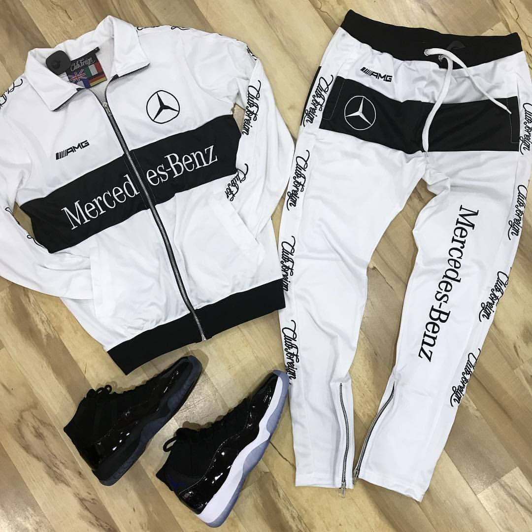 Nicelly Mens 2-Piece Set Leisure Athletic 3//4 Sleeve Printed Tracksuit Set