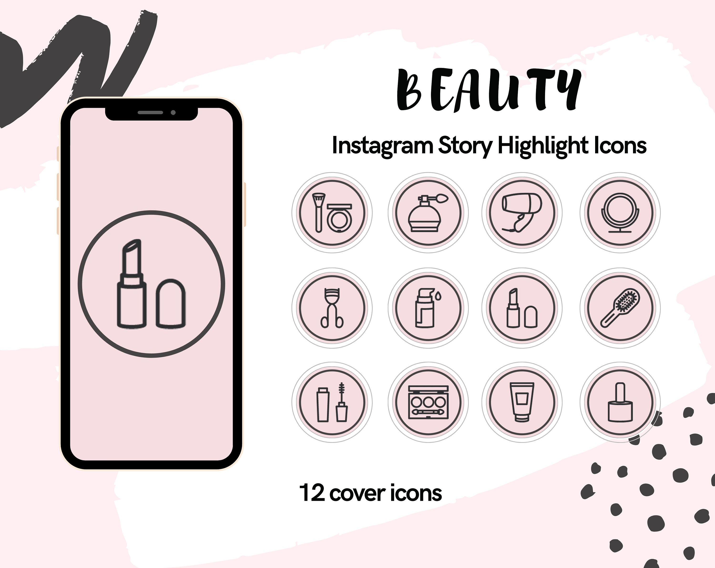 Instagram Story Highlight Icons Beauty Instagram Highlights Insta