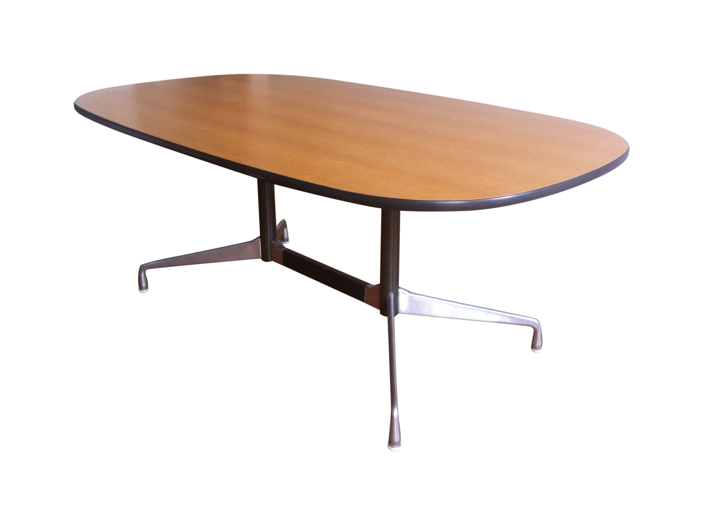 Eames Segmented Base Table by Herman Miller on Chairish