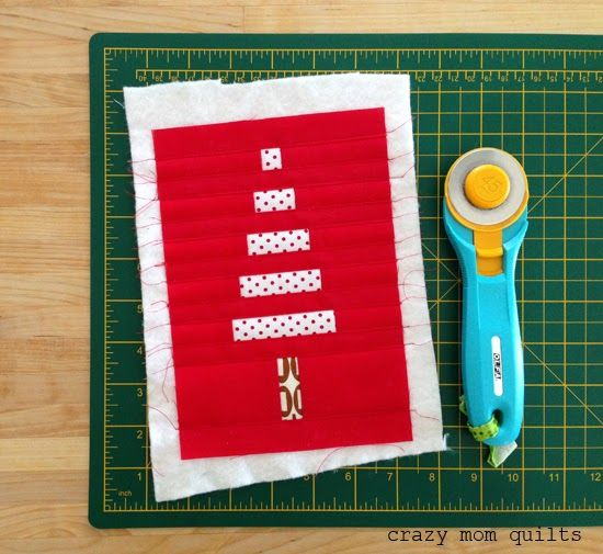 How To Bind Tiny Things (crazy Mom Quilts)
