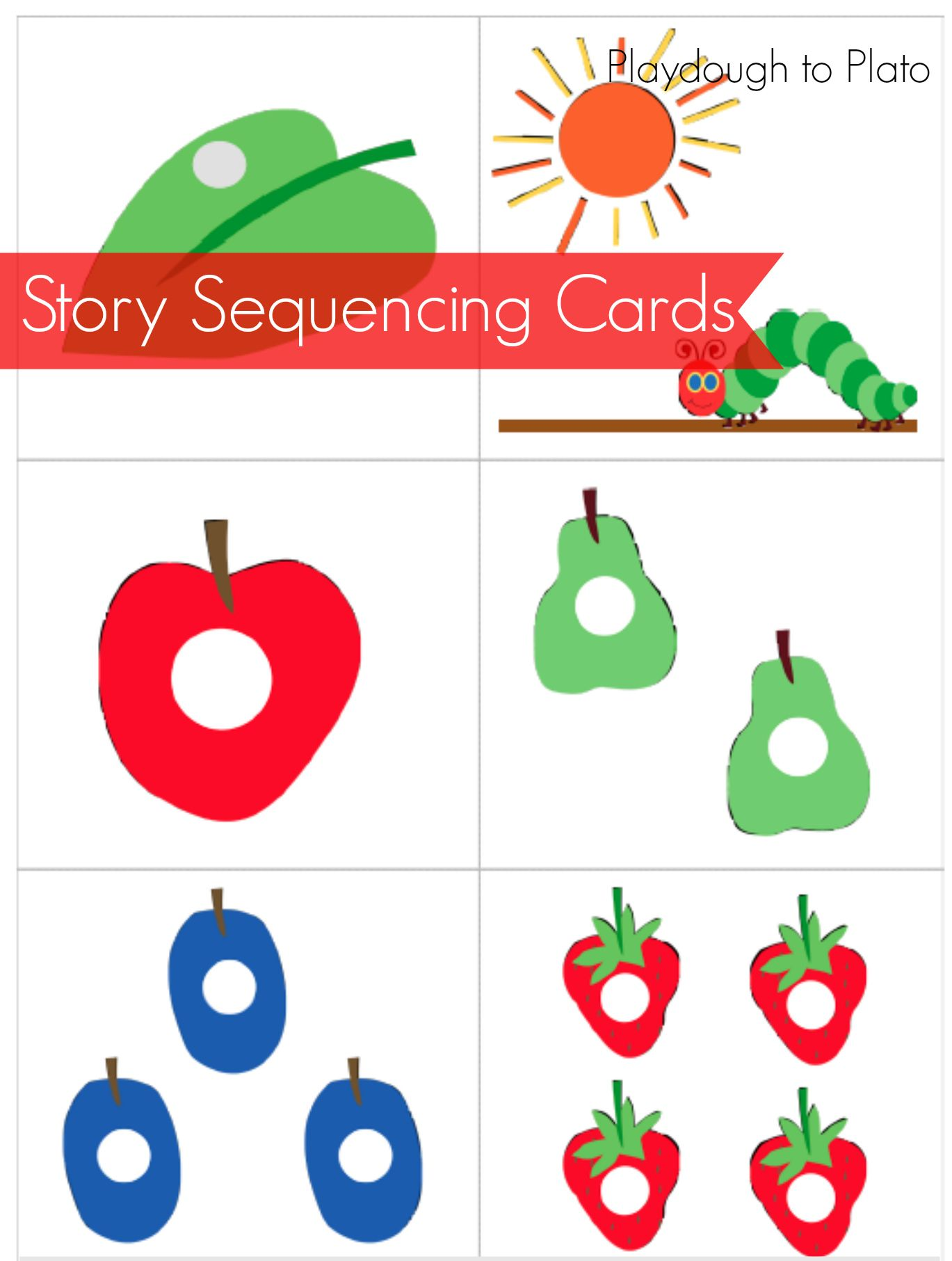 The Very Hungry Caterpillar Free Printables