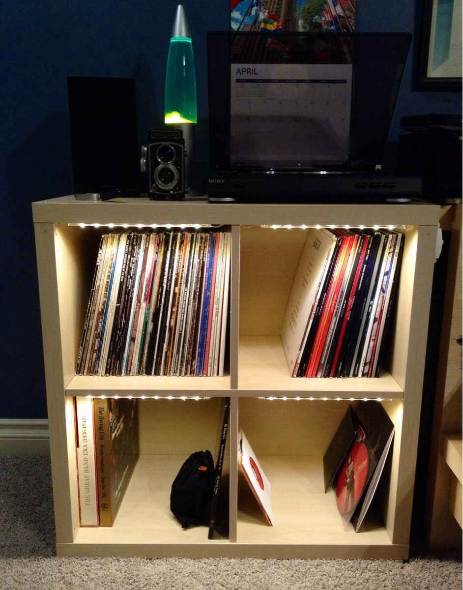 Range Vinyle Ikea Kallax Vinyl Light Google Zoeken For The Home Vinyl Record