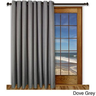 Glasgow Grommet 84inch Extra Wide Curtain Panel | Overstock.com Shopping - Great Deals on Ricardo Curtains