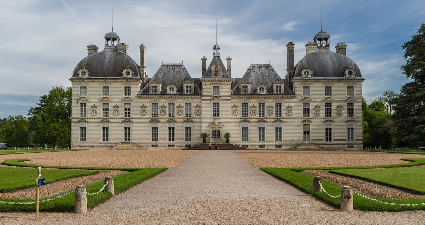 The Largest Uncompleted Chateau In Loire Valley Within Central France French Renaissance