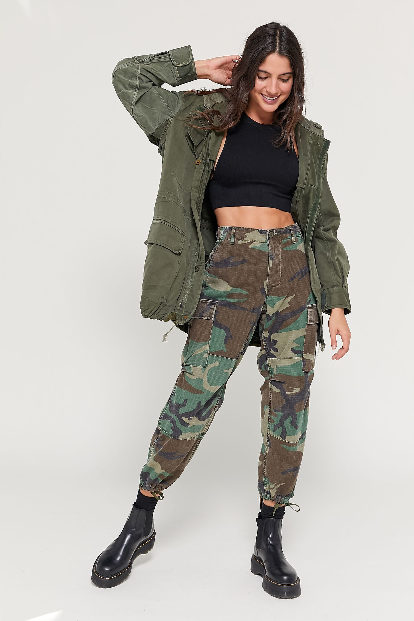 Vintage Original Camo Pant in 6  Army clothes, Camo outfits