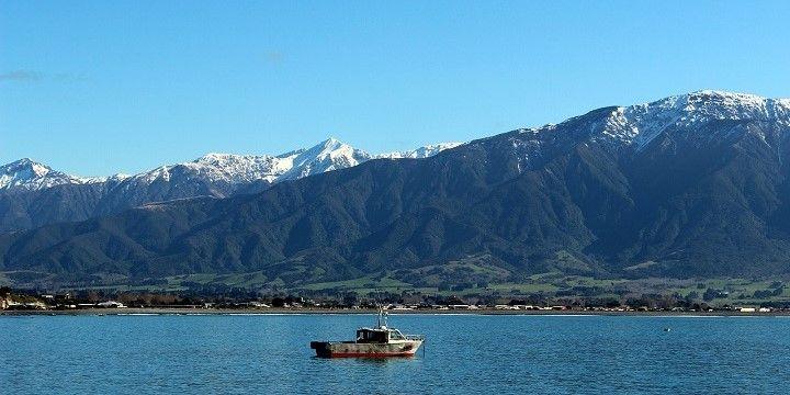 Kaikoura peninsulas, South Island, New Zealand