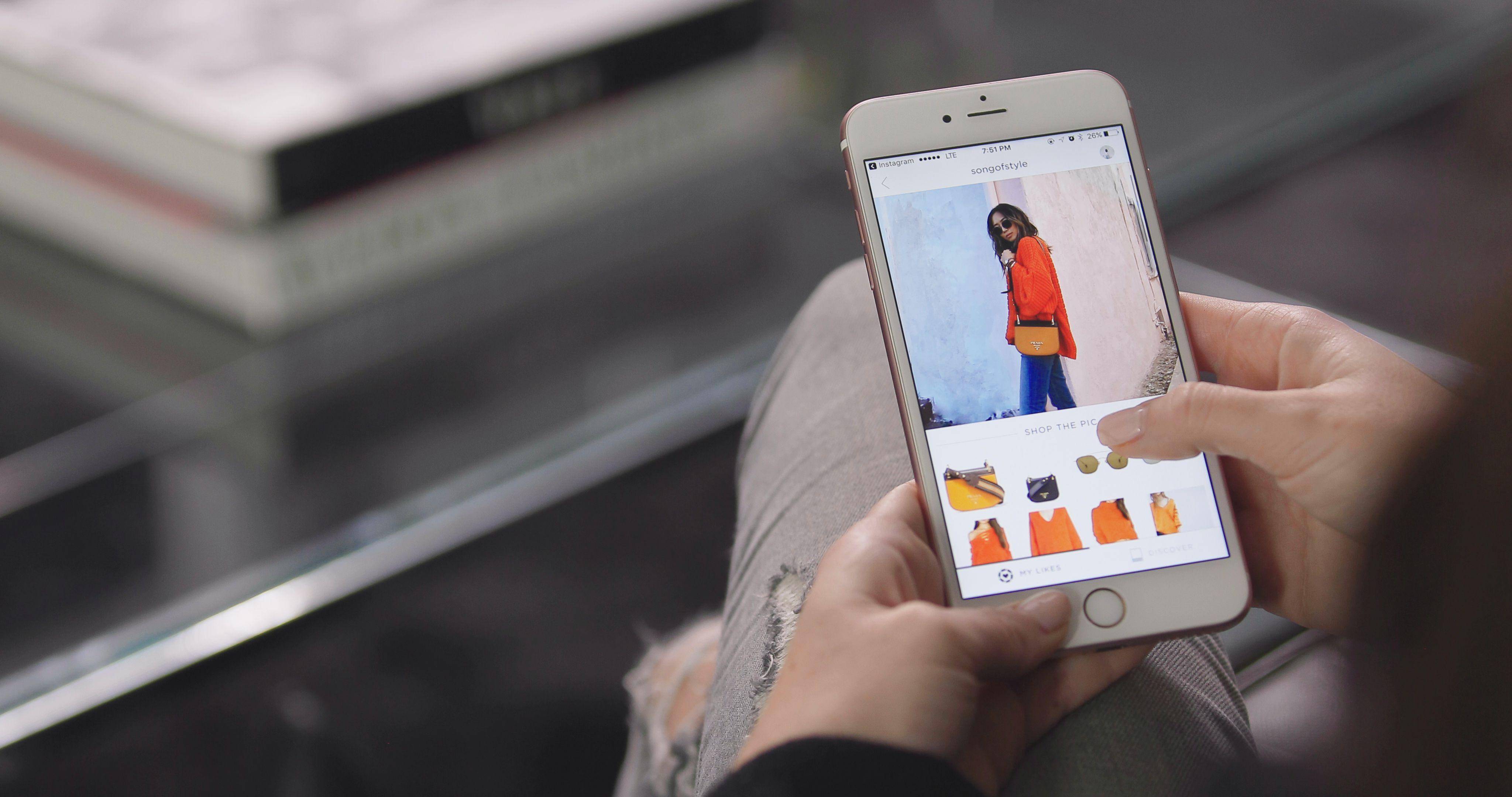 Resultado de imagen de instagram compras influencers