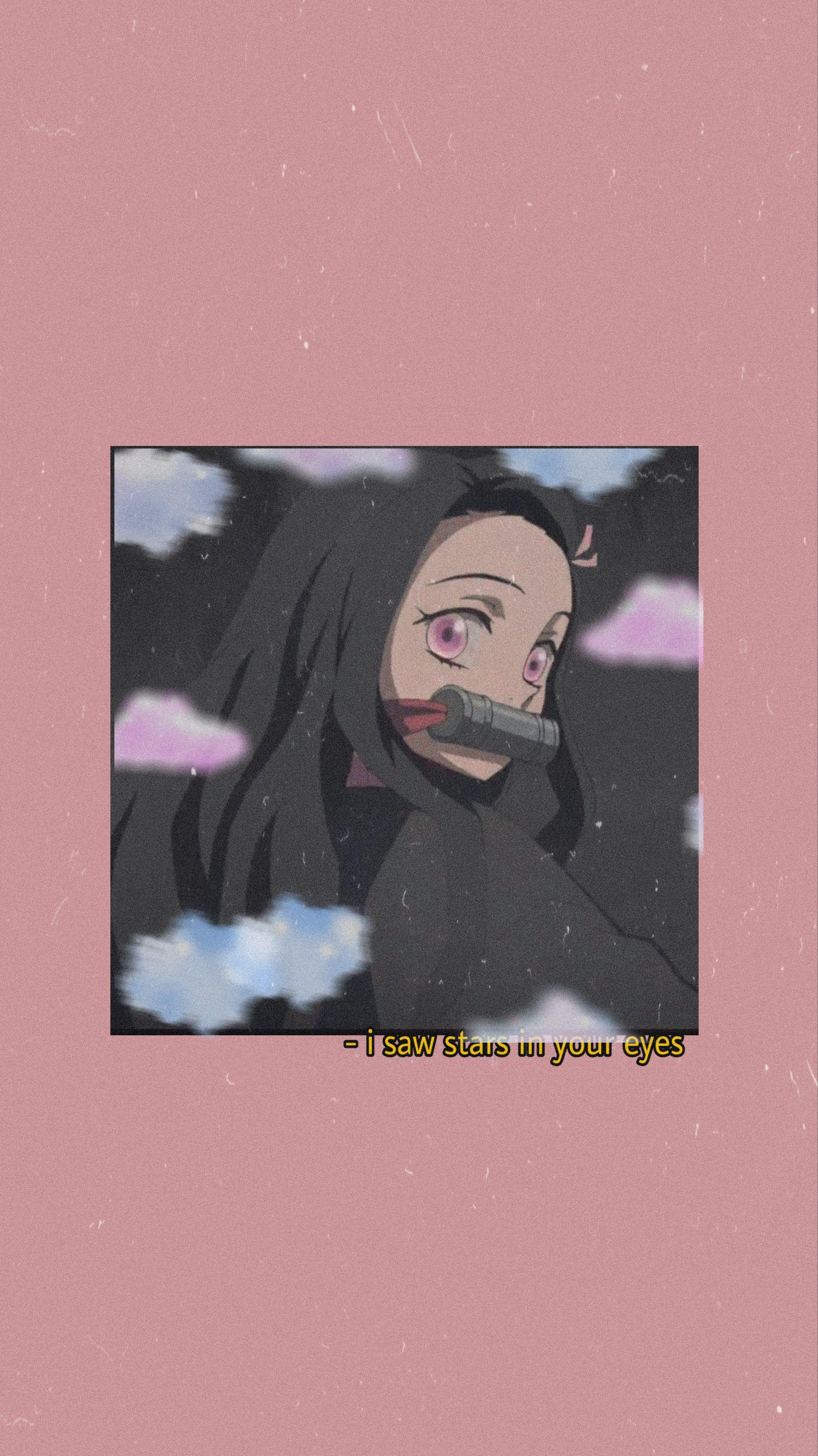 Nezuko demon slayer en 2020 Anime estético, Muchacha de