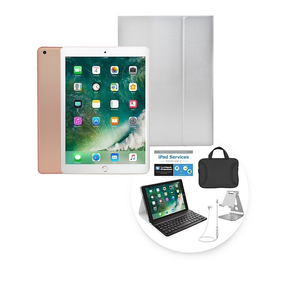 2018 Apple Ipad 9 7 128gb Tablet W Keyboard Case Earbuds Gold 8783334 Keyboard Case Apple Ipad Ipad
