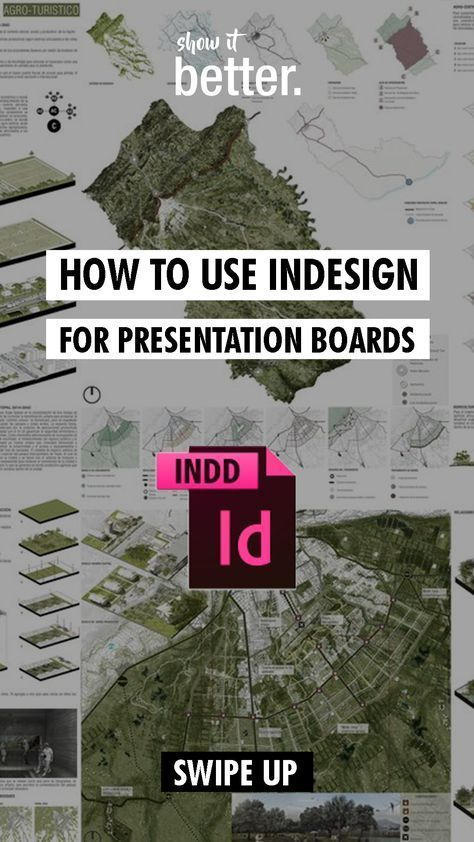Learn how to use indesign for your presentation boards here  Learn how to use indesign for your presentation boards here