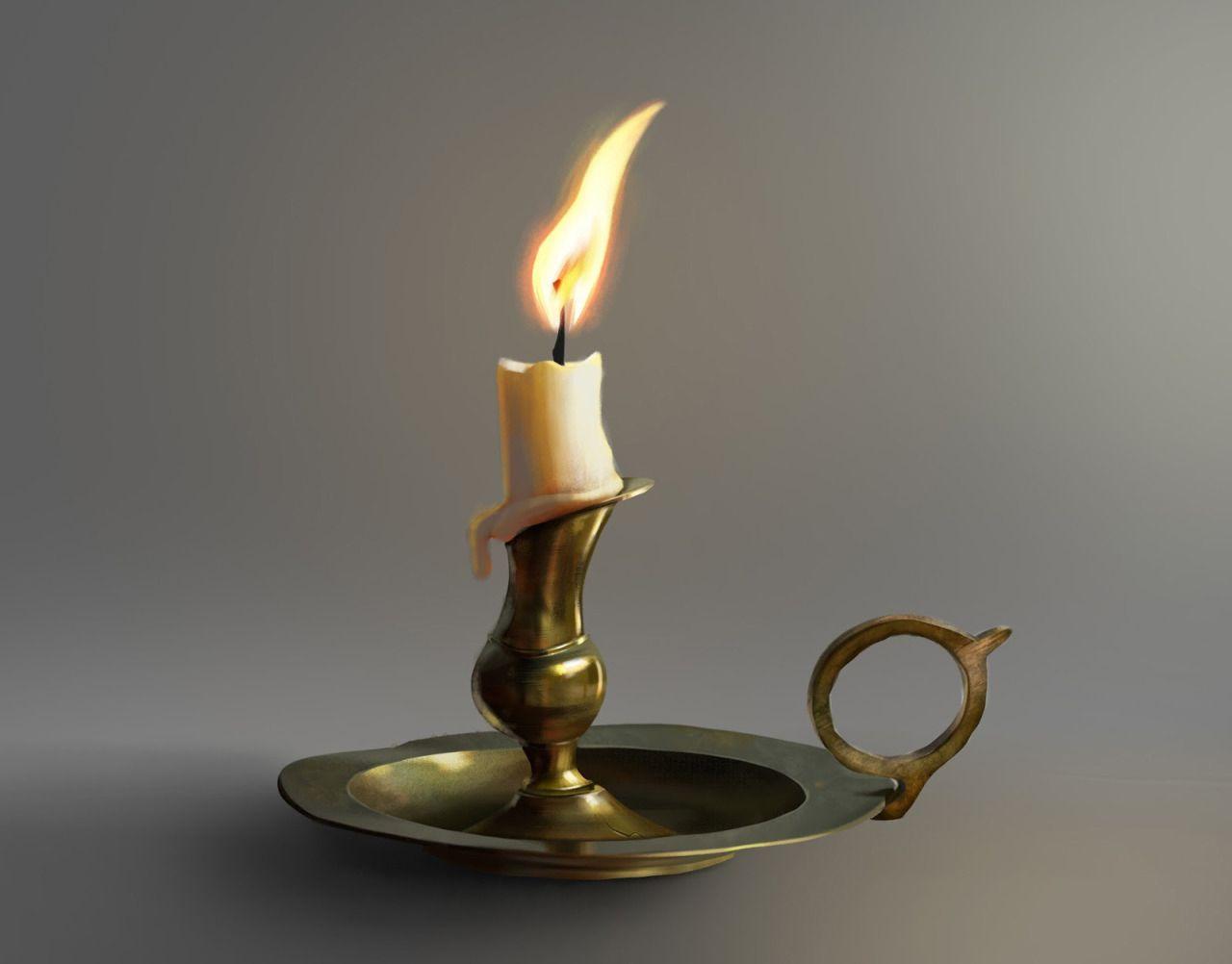 Свечи подсвечники старинные картинки