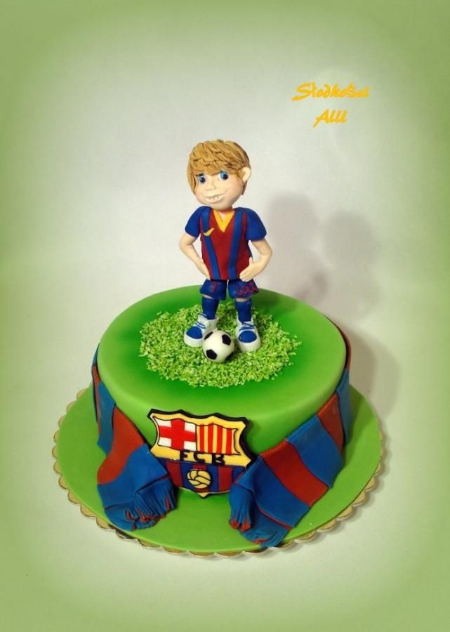 Young Supporter Cake - Cake by Alll