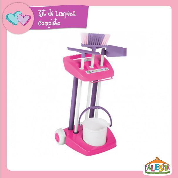 Kit De Limpeza Completo Brinquedos E Brincadeiras Brinquedos E