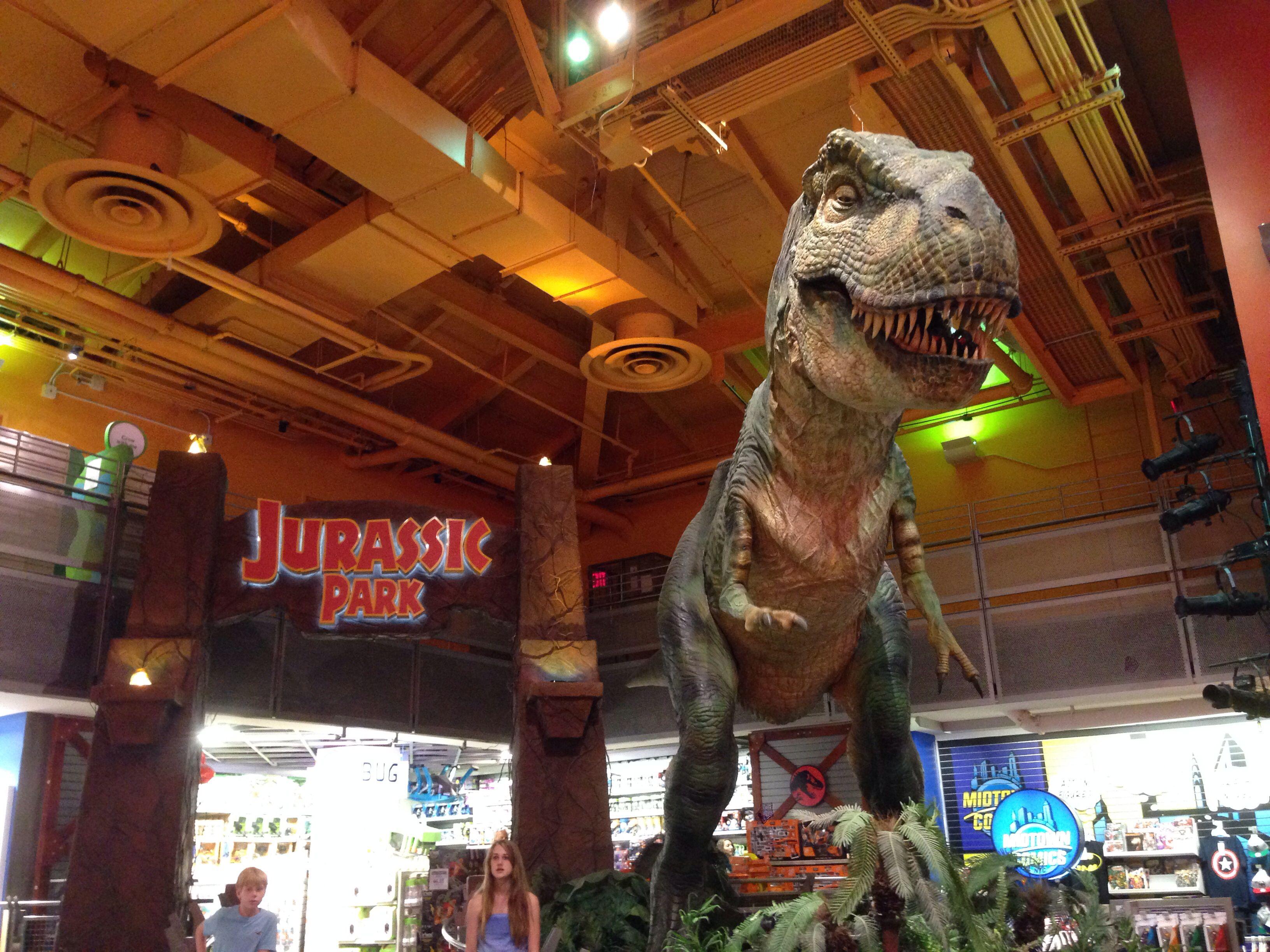 Jurassic Park New York City Jurassic Park York City