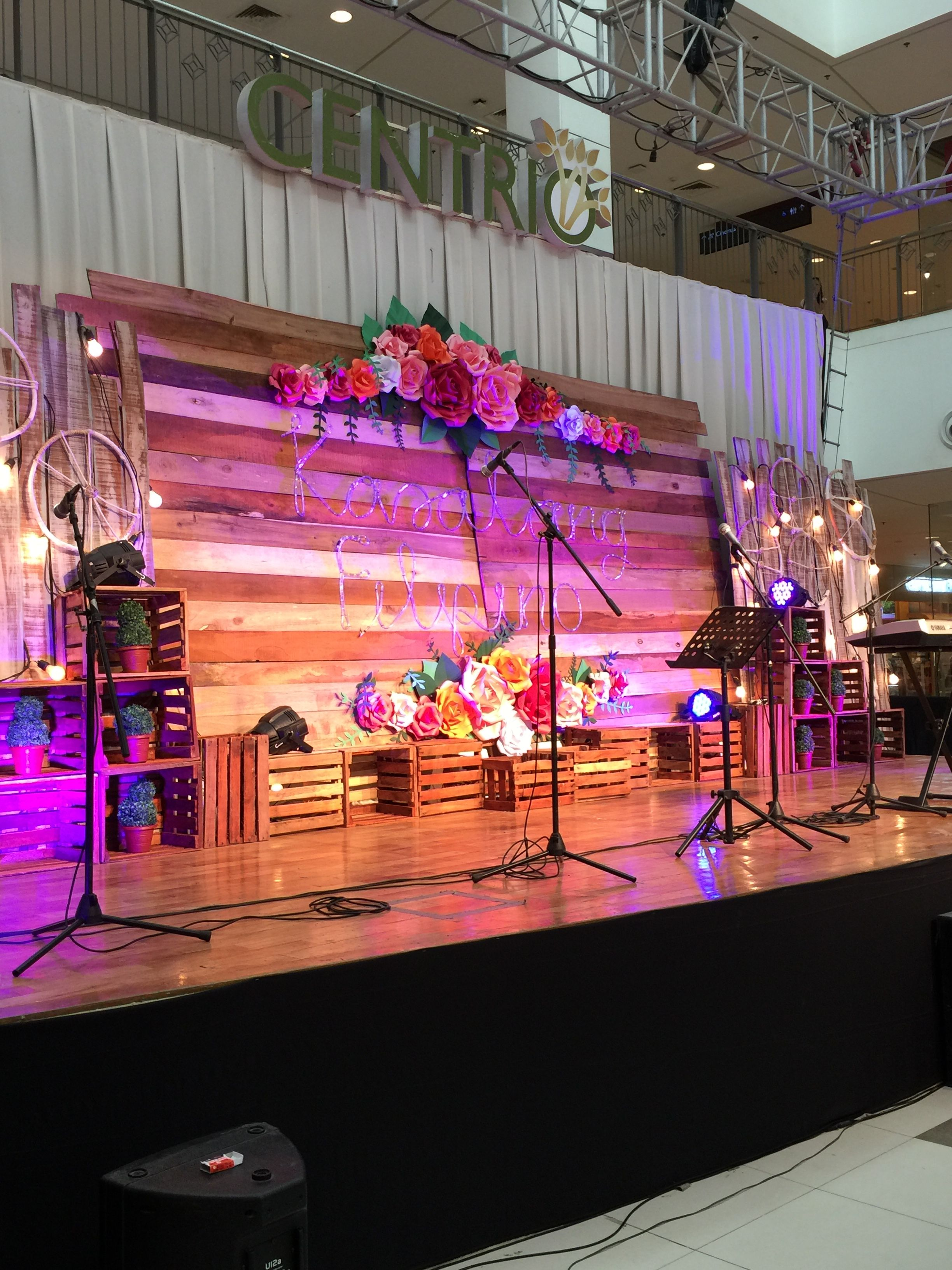 Stage Design Bohemian Bohemian Themed Bridal Fair In