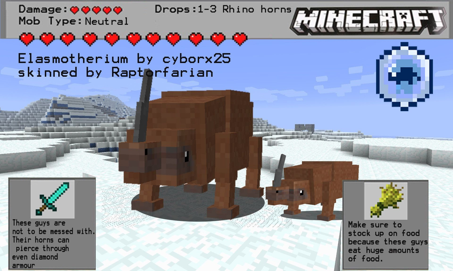 cyborx25 Fossil and Archeology Models - Minecraft Mods