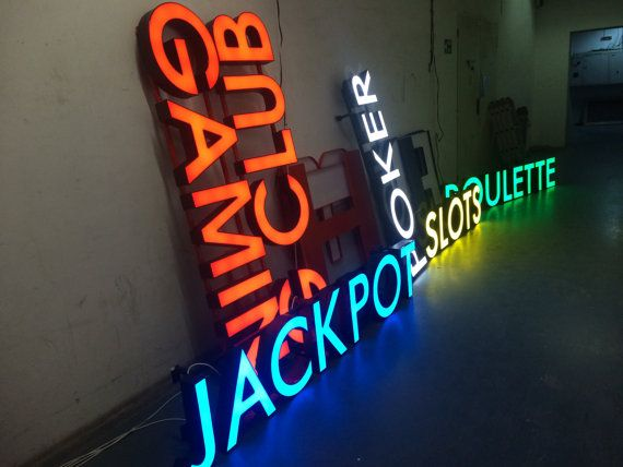 Light Up Letters Store Sign Restaurant Sign Shop By Artzonesigns Restaurant Signs Shop Signs Store Signs