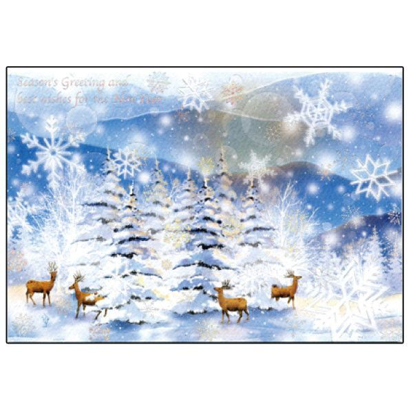Greeting life christmas card sn 16 greeting life formal christmas card sn 16 m4hsunfo