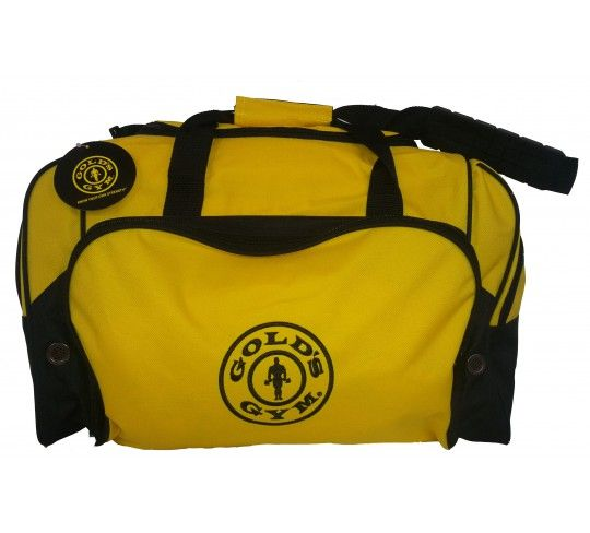 a5feb6006b6f The Golds Gym sports duffel bag has U-shaped main compartment and gusseted  front pocket