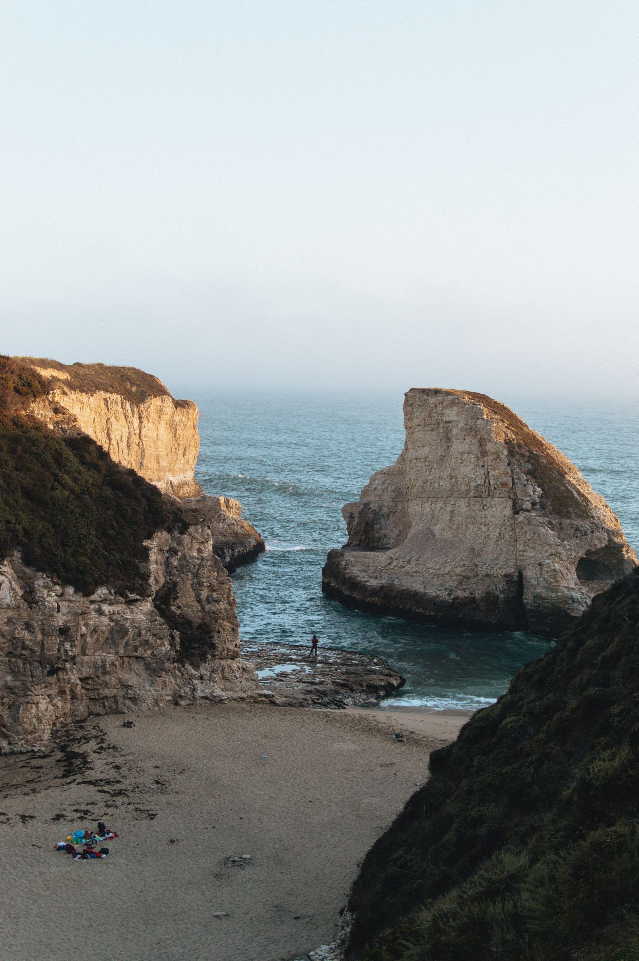 Shark Fin Cove Davenport California