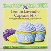 """""""Lemon Lavender""""  Cupcake Mix with lavender frosting mix, 12 aprons and more - World Market Stores $5.99"""