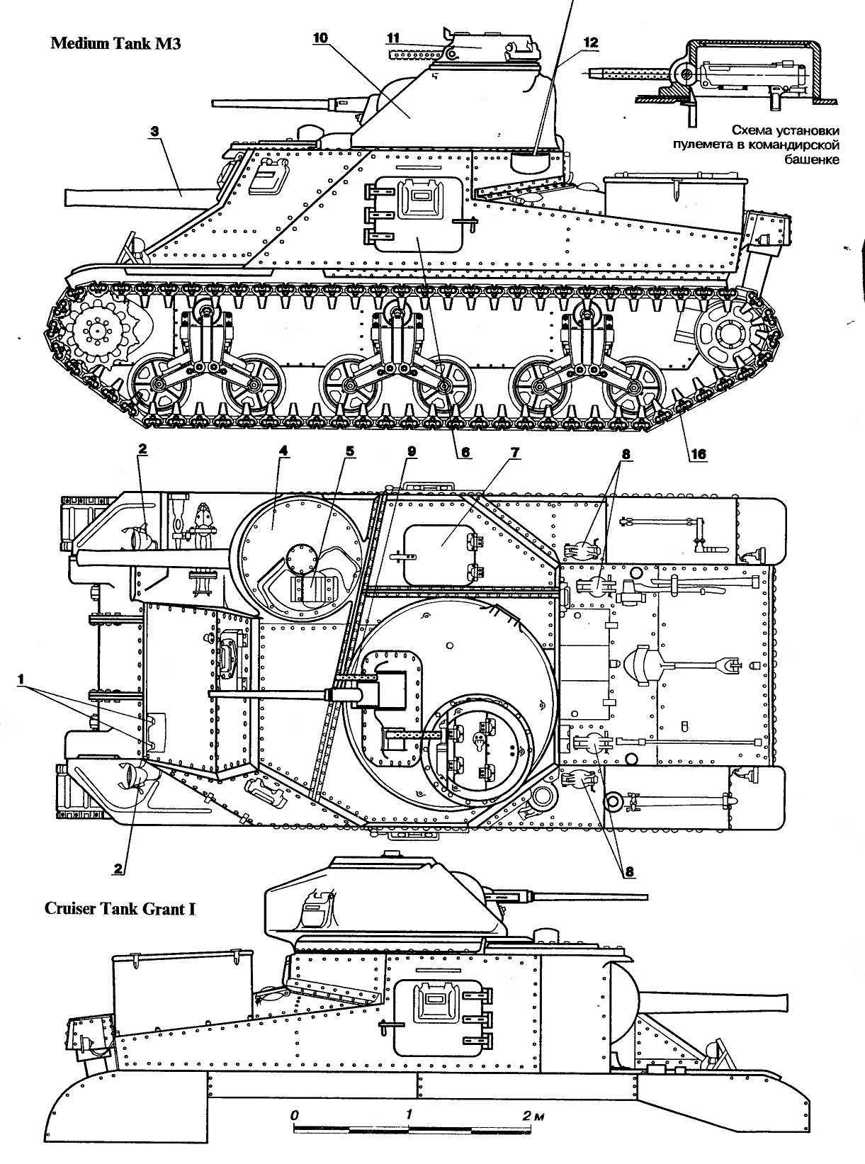 Medium Tank M 3 Lee Grant