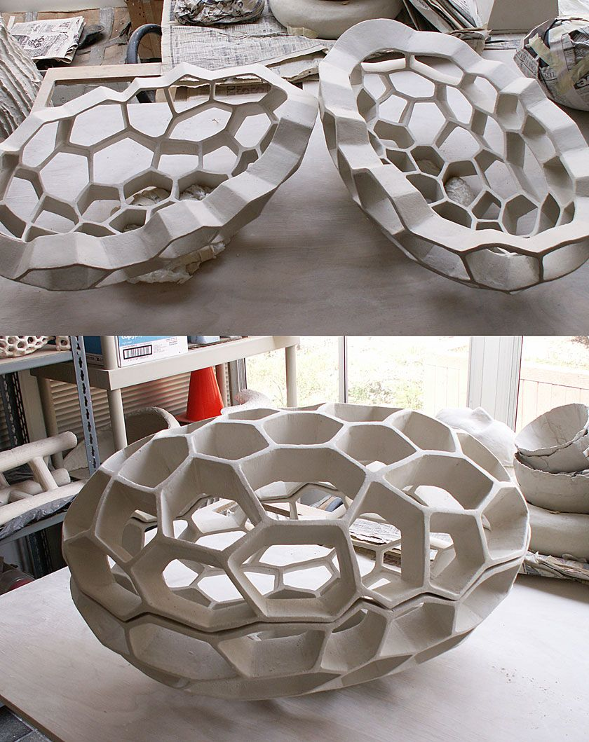 Paperclay sculpture by anthony foo march paper