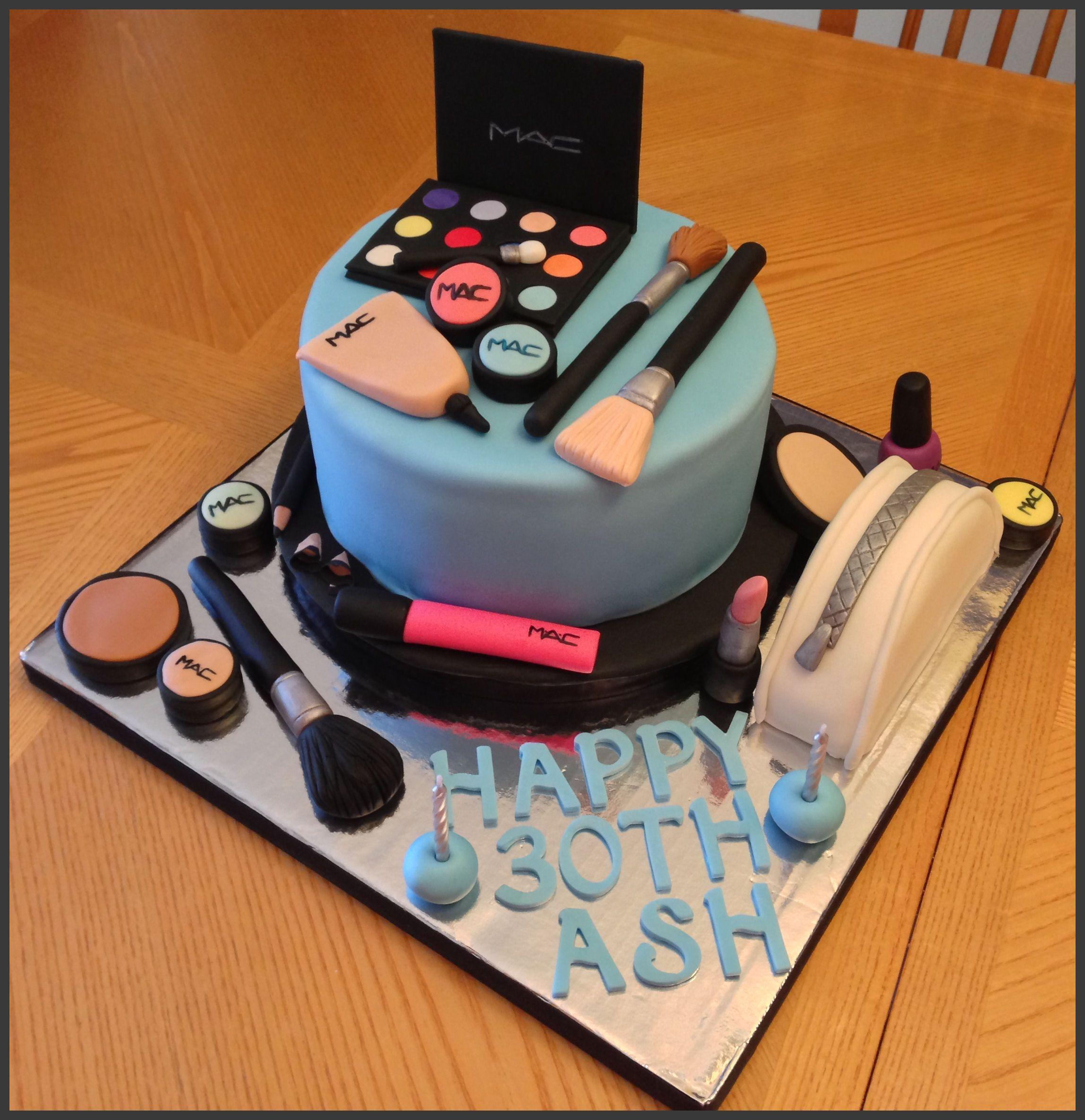 MAC Makeup Cake - MAC Makeup Cake. Amazing!