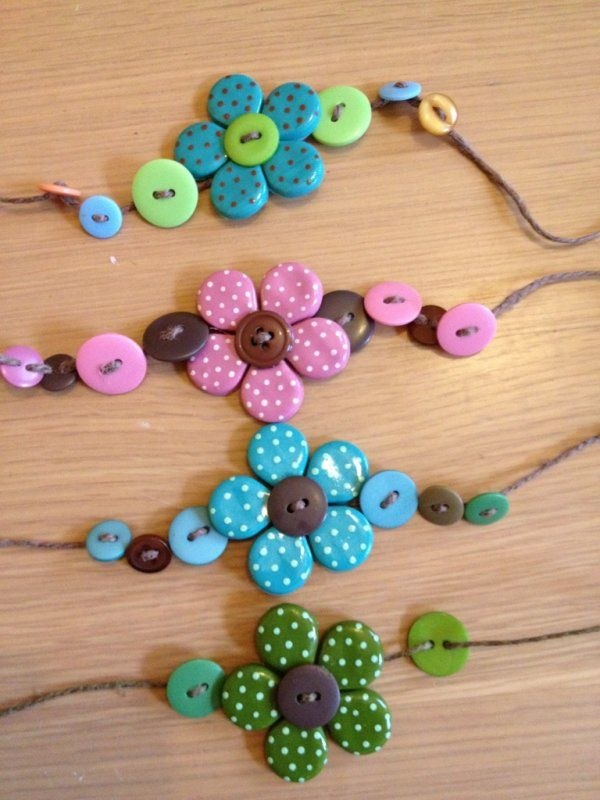 38 Super Cool Diy Jewelry Ideas That Lets You Use up All Your Leftover Buttons …