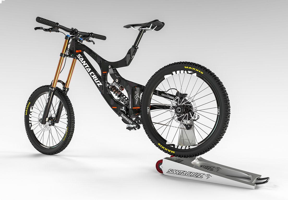Santacruz V 10 Bike Concept On Behance Bike Bike Brands