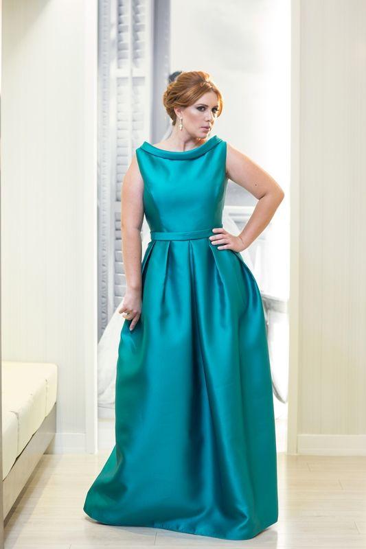 Vestidos festa plus size 2015