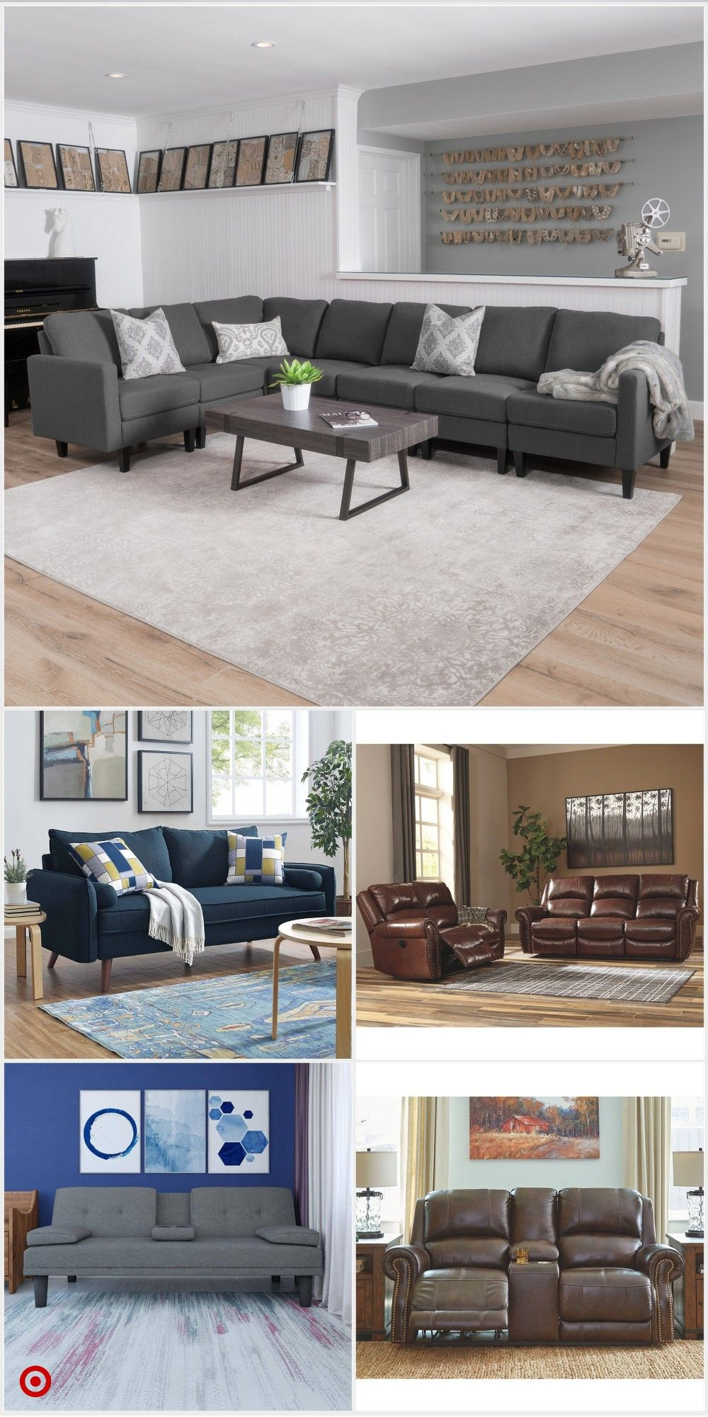 Shop Target For Sectional Sofas You Will Love At Great Low Prices Free Shipping On Orders Of 3 Living Room Decor Cozy Living Room Sets Living Room Table Sets