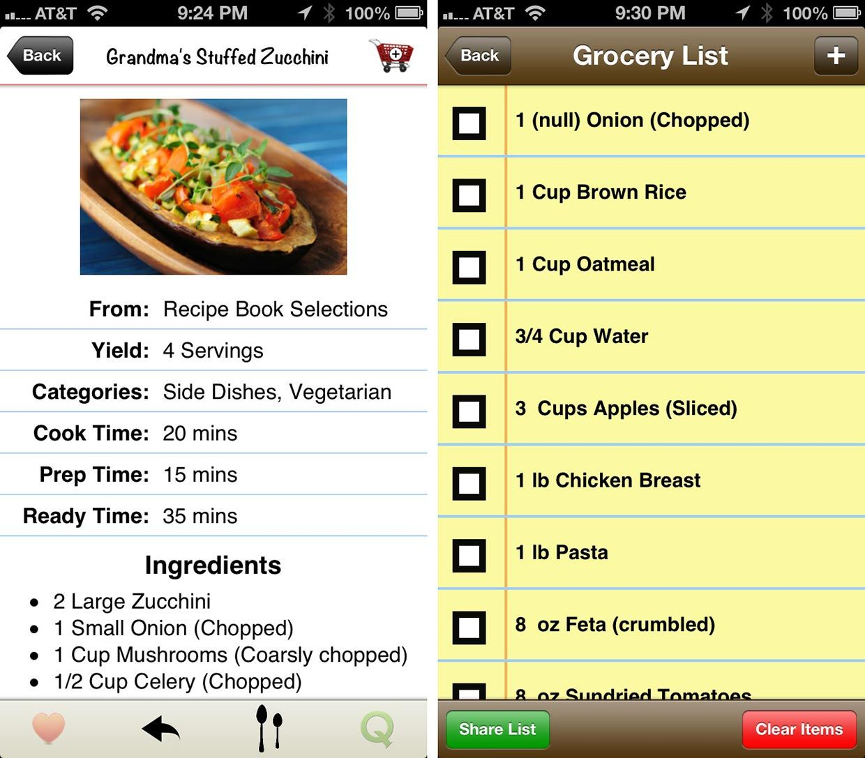 My recipe book 30 review keep your cooking recipes synced my recipe book 30 review keep your cooking recipes synced between iphone and ipad forumfinder Images