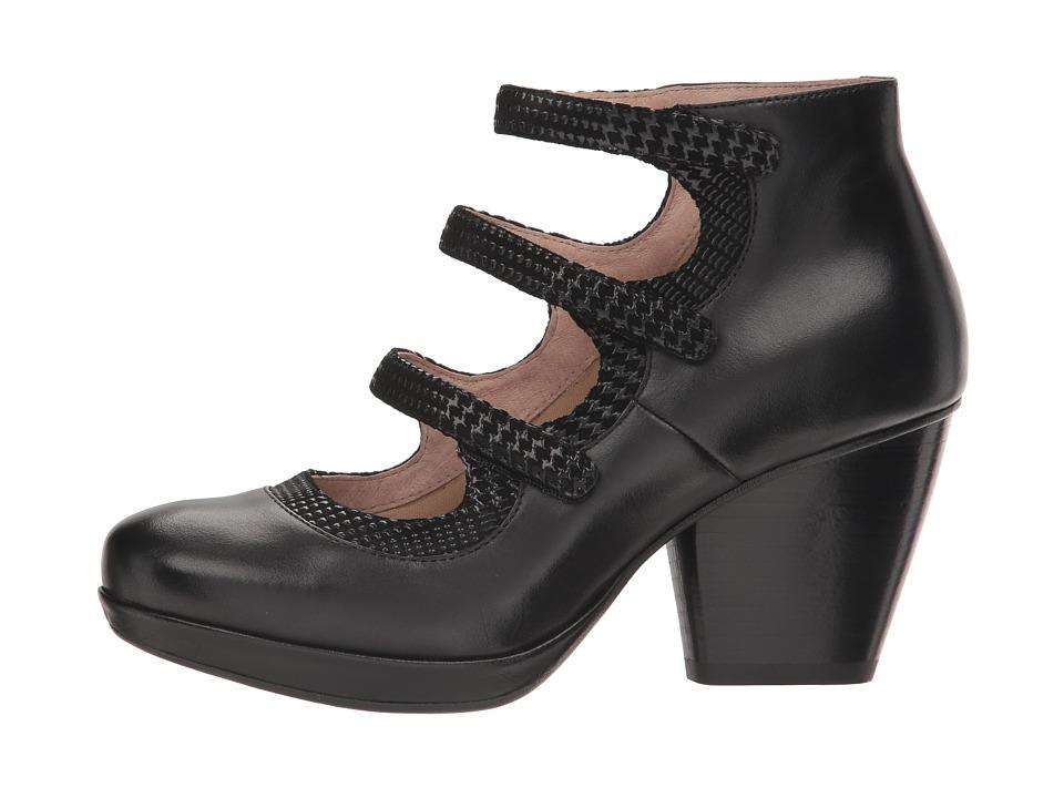 7dd19504c438 Dansko Marlene Women s Shoes Black Burnished Calf