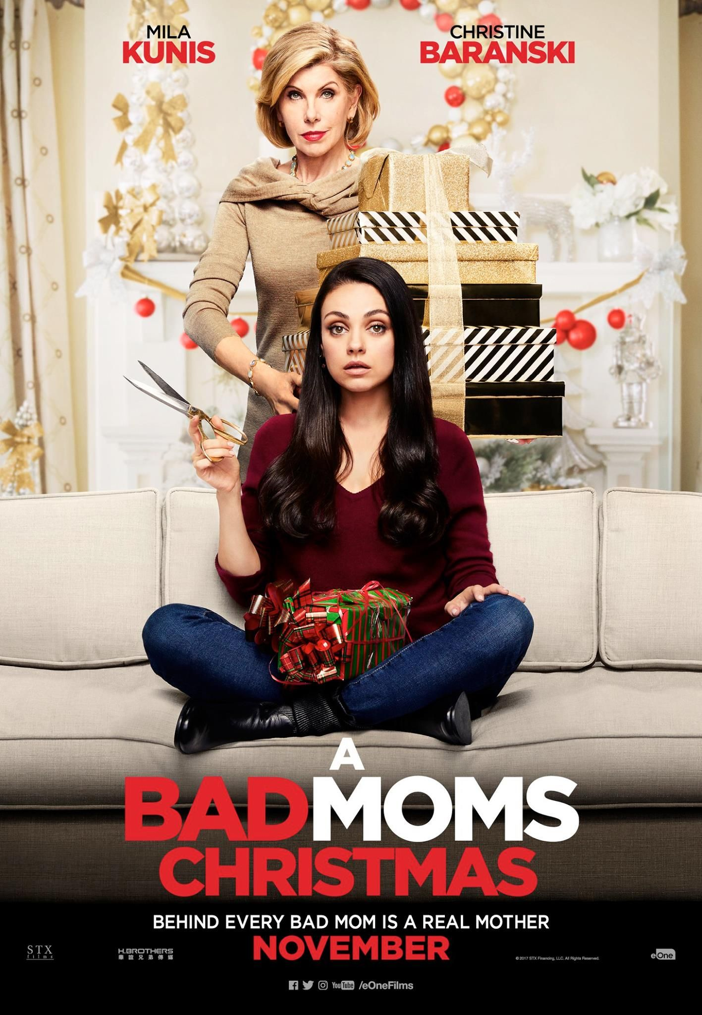 A BAD MOMS CHRISTMAS CHARACTER POSTER | Holiday Movies | Pinterest ...