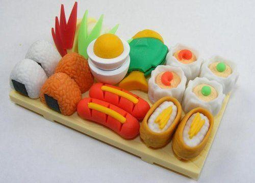 Iwako: Japanese Eraser / Food / Japanese Lunch / 16PCS by Iwako