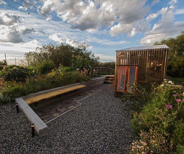 Gartengestaltung Ideen Holz Pavillon