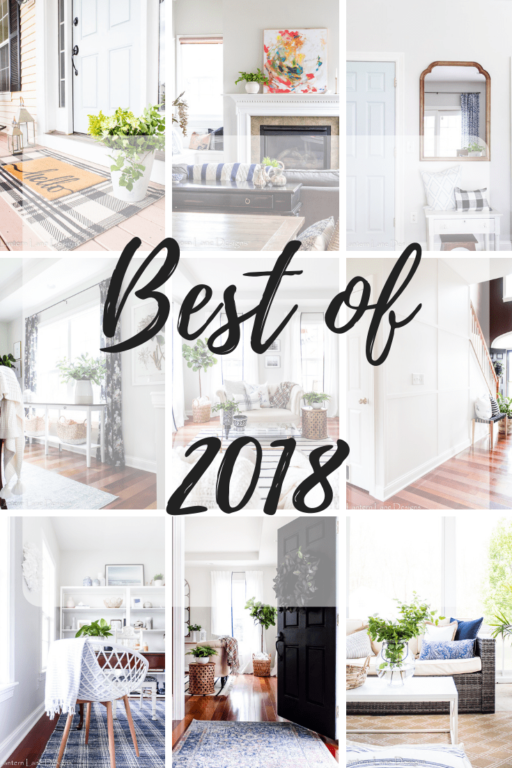 Best Of 2018 Diy Projects Blog Posts And Room Makeovers Home