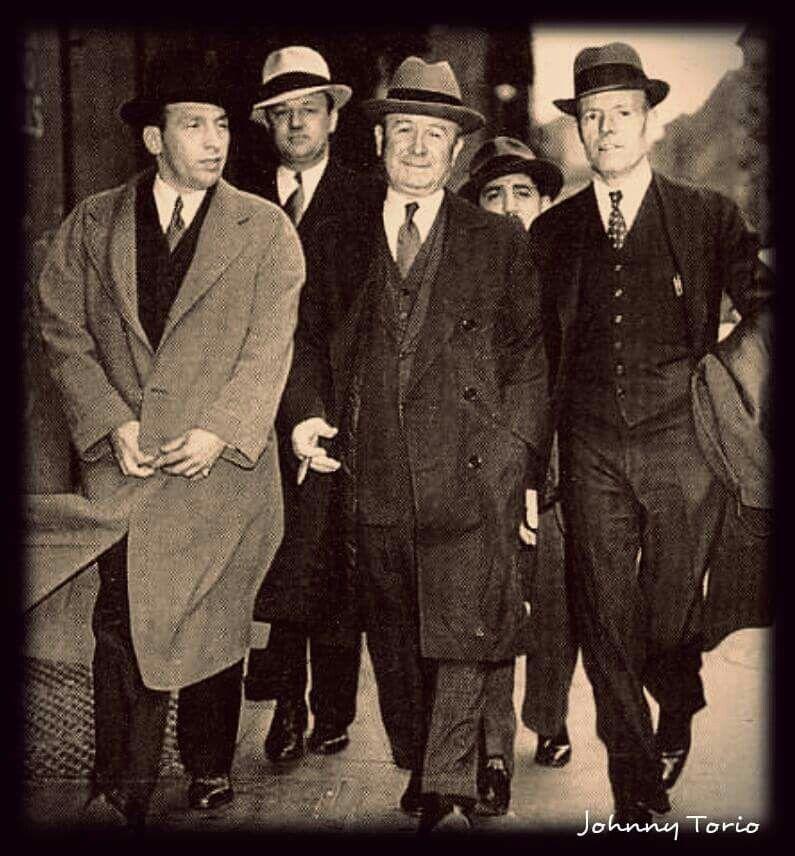 Johnny Torrio Chicago Outfit Mafia Gangster Al Capone