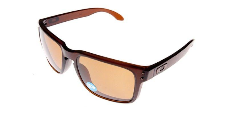 47cc445d7b Oakley Sunglasses Holbrook Matte Rootbeer Bronze Polarised OO9102-03 55 is  designed for men