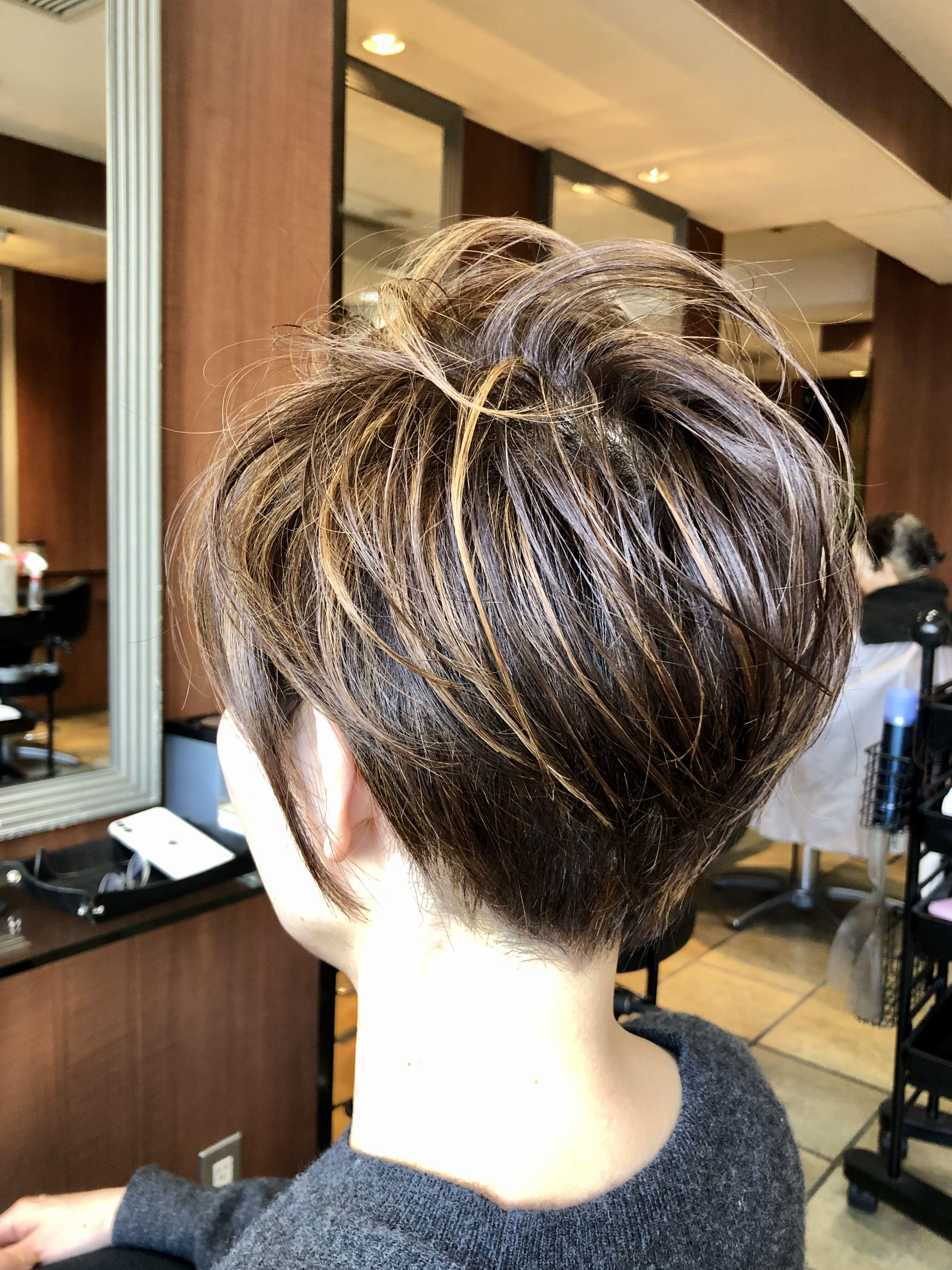 Photo of 表参道美容室 40代50代60代ヘアスタイル・髪型カタログ 「40代50代60代ヘアスタイル髪型。50代髪型。50代ショート。」
