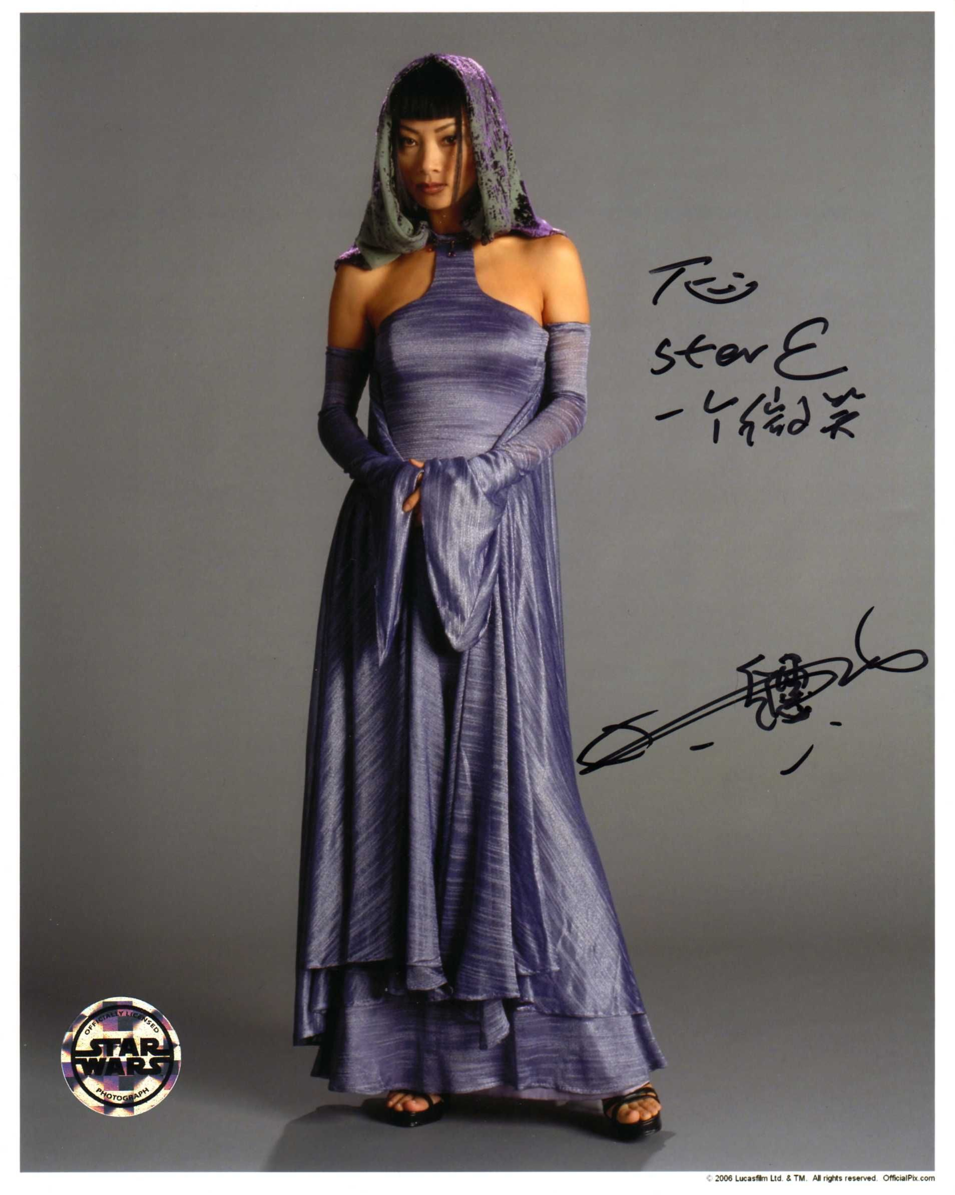 Bai ling episode iiisigned at chiller threatre 43011