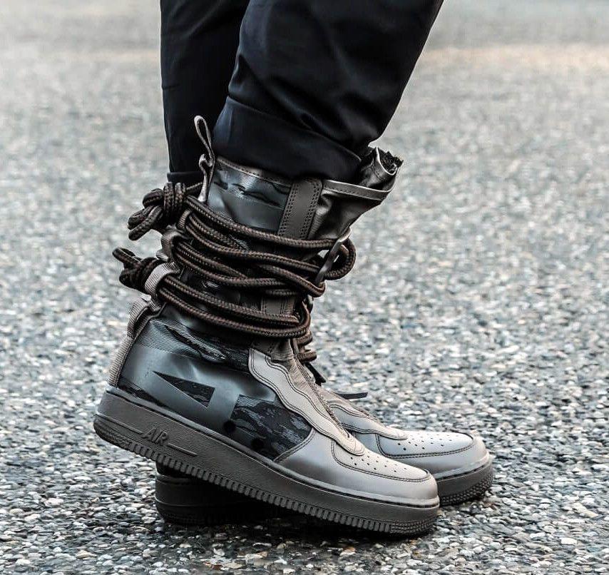 Nike Air Force 1 Sf Af1 Hi Ridgerock Camo Military Army Reflective Boot Sz 12 Nike Athleticsneakers Mens Nike Shoes Nike Sf Af1 Mens Fashion Nike