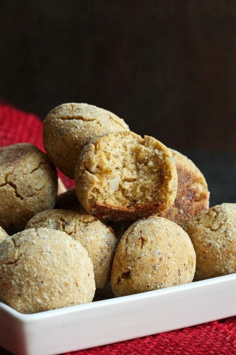 Vegan Baked Oil Free Hush Puppies Recipe Vegan Baking Almond Recipes Baking