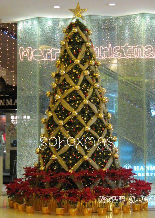 Como Decorar El Arbol De Navidad 2015 Google Search Decoracion Arbol De Navidad Arbol De Navidad Colorido Pinos De Navidad Decorados