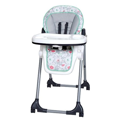 The Baby Trend Tempo High Chair In Floral Pop Is A Welcome