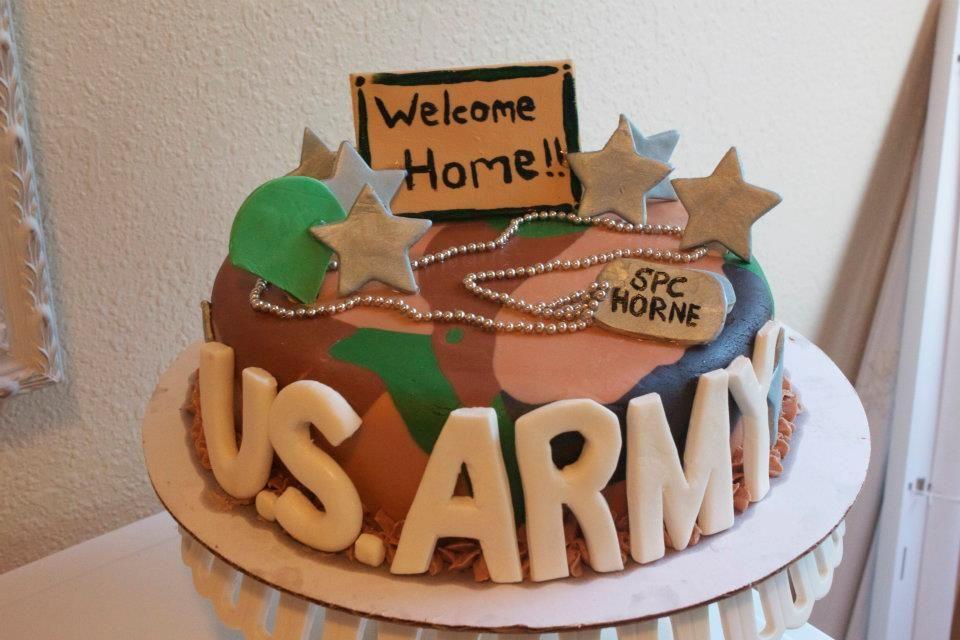 welcome home cake ideas